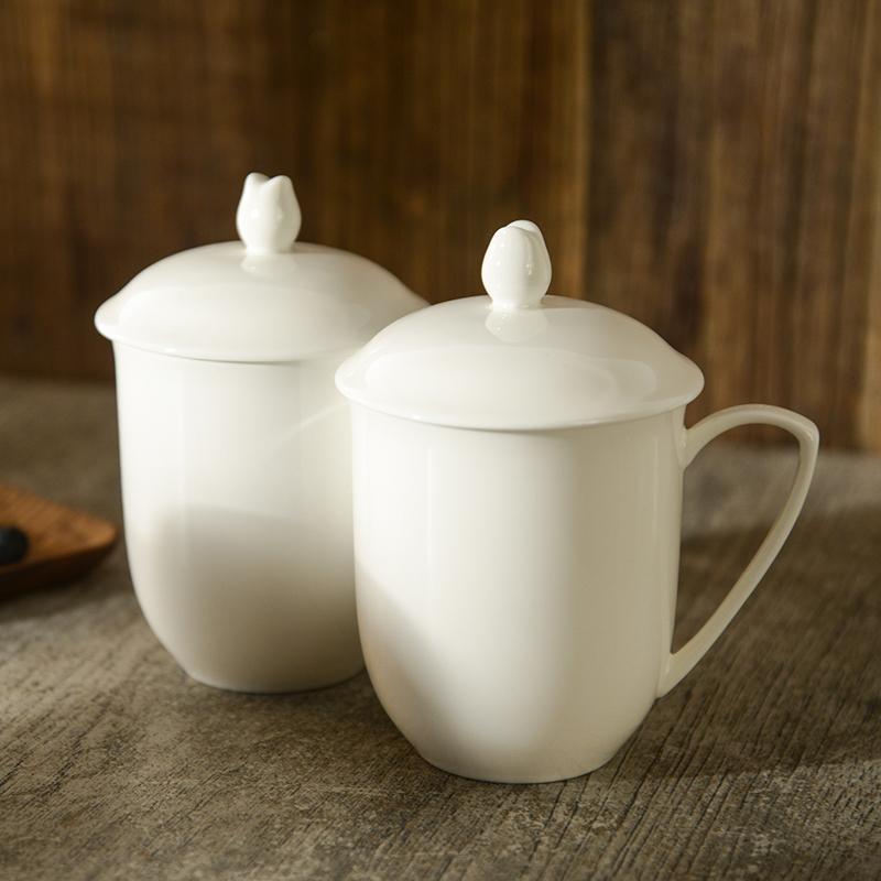 乐活易居陶瓷杯