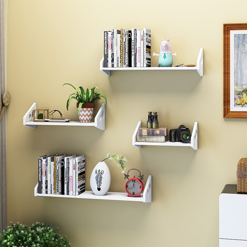 墙上收纳书架