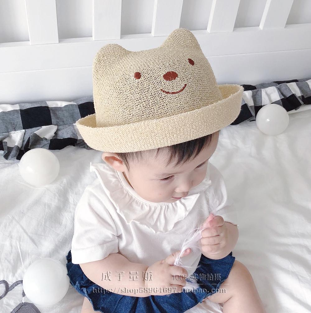 小熊嬰兒童帽