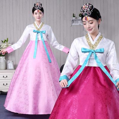 朝鲜族演出服装女