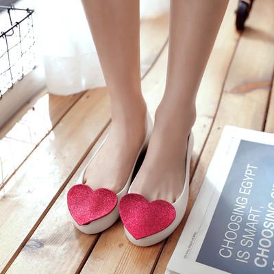 2017新款果冻鞋女鞋夏季海边度假塑料沙滩低跟大码鱼嘴凉鞋韩国潮