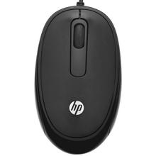 HP惠普FM110 USB有线黑色惠普原装正品鼠标 办公家用多功能 黑色
