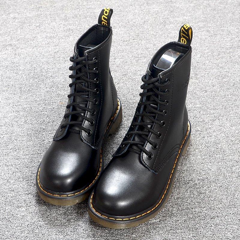 圆头骑士短靴子