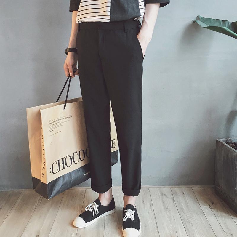 直筒显瘦长裤