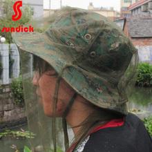山地客sundick户外防蚊面罩防蚊虫纱网防虫头套头罩护头网帽套