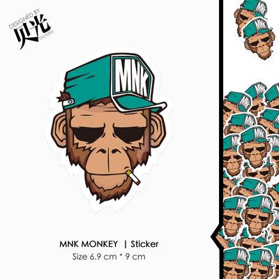 猴子拉杆箱
