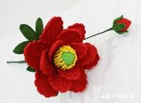 毛线花牡丹花