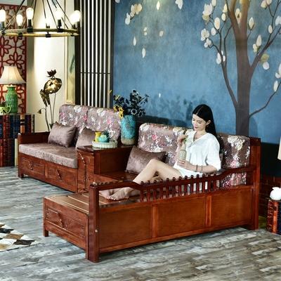 现代中式纯实木家具
