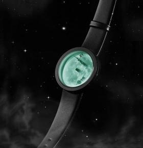 美国代购正品M-Theory漫步月球Moonlight零重力夜光男女同款手表