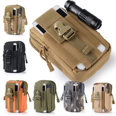 战术腰包运动户外多功能跑步休闲手机小包穿皮带男女军迷防水挂包