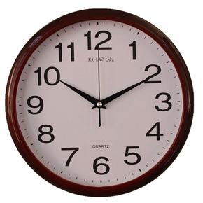 克劳斯12寸现代简约座钟客厅卧室时尚超静音挂钟居家创意石英钟表