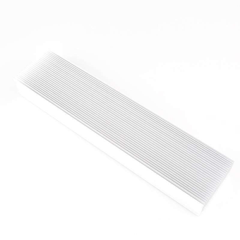 优质散热片 300*69*36MM 密齿大功放散热器铝片 厂家直销