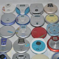Portable VCD CD MP3 Walkman Mobile Player Prenatal Machine Support English Dish Failure Machine