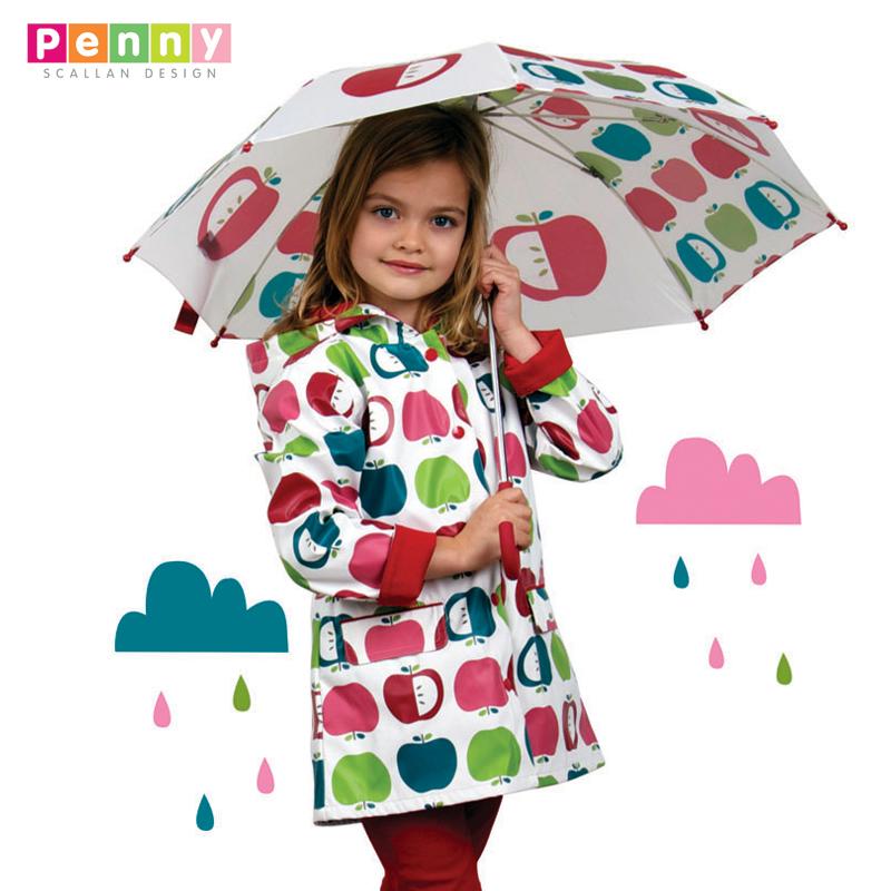 澳大利亚Penny Scallan design儿童直杆时尚伞 宝宝雨伞防水防风