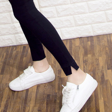 Bottom pants for women wearing spring and autumn 2019 Korean version pencil pants, tight pants, high waist and thin black leggings