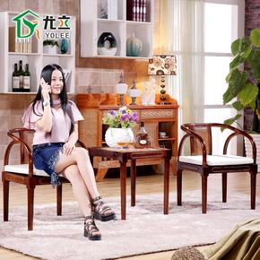 藤条椅子茶几三件套室内休闲藤编庭院阳台户外 桌椅套件组合天然