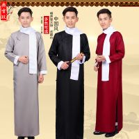 Xiangsheng clothing Daxie Allegro clothing Republic of China clothing gowns May Fourth youth students wear men's robes Chinese Stables