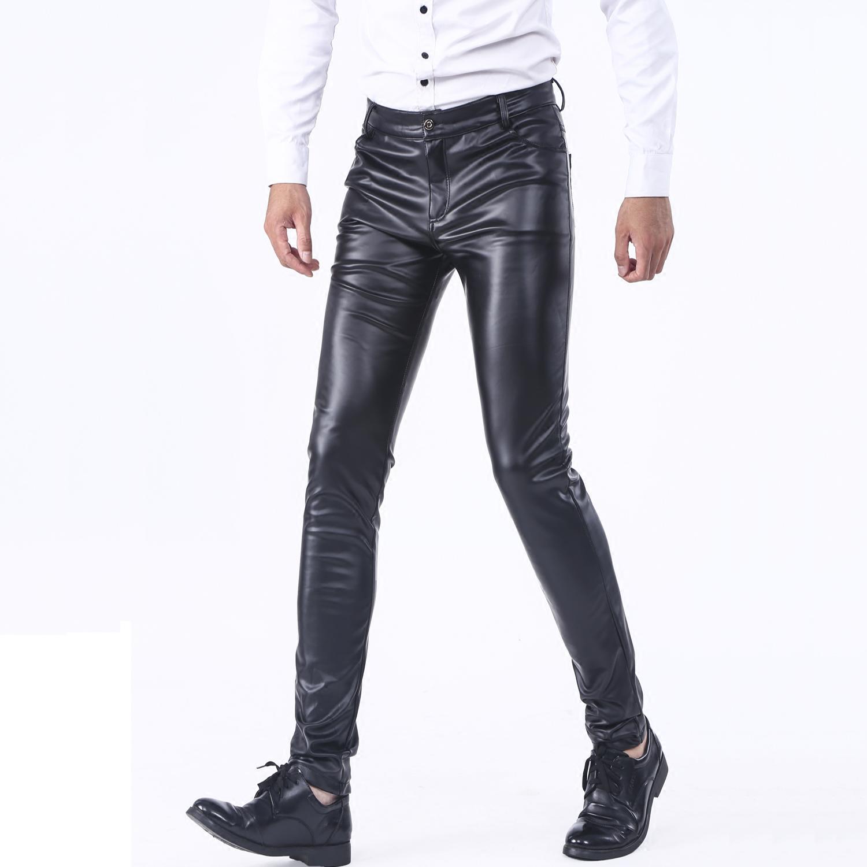 Кожаные брюки Артикул 559021513848