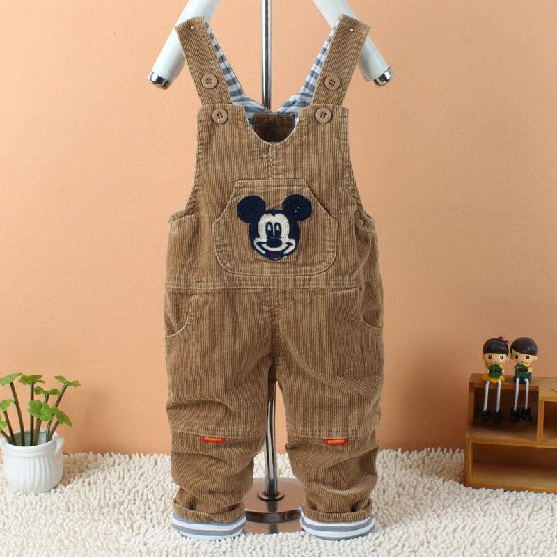 儿童灯芯绒棉裤