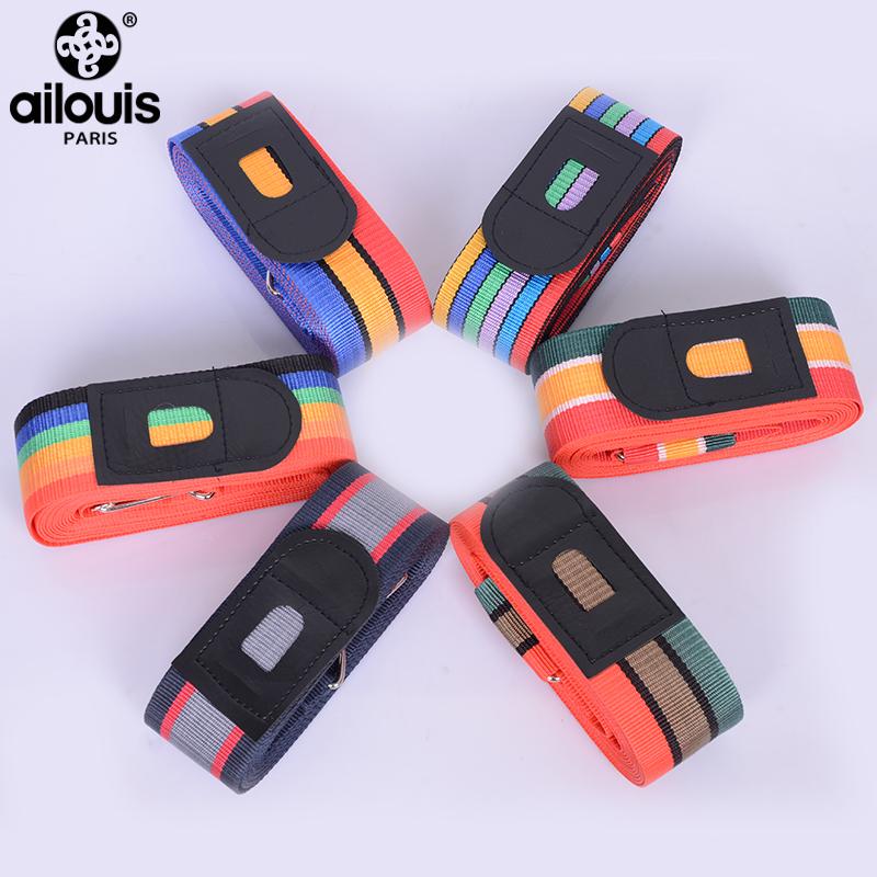 法国Ailouis加宽旅行箱捆绑带金属扣.米长十字打包带托运包加固