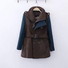 波蓝贝贝2014秋冬男童休闲羊毛呢子外套韩版 男童裝儿童呢大衣加厚
