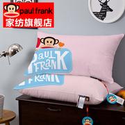 paulfrank大嘴猴卡通纯棉枕芯简约枕全棉学生儿童床上用品B