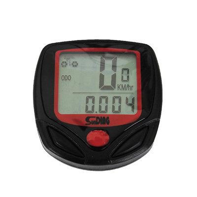 山地车骑行踏频有线中文无夜光公路防水自行车智能码表装备