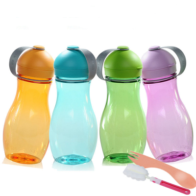 正品特百惠活力壶便携带盖茶杯创意水杯子耐热儿童女士水壶500ml