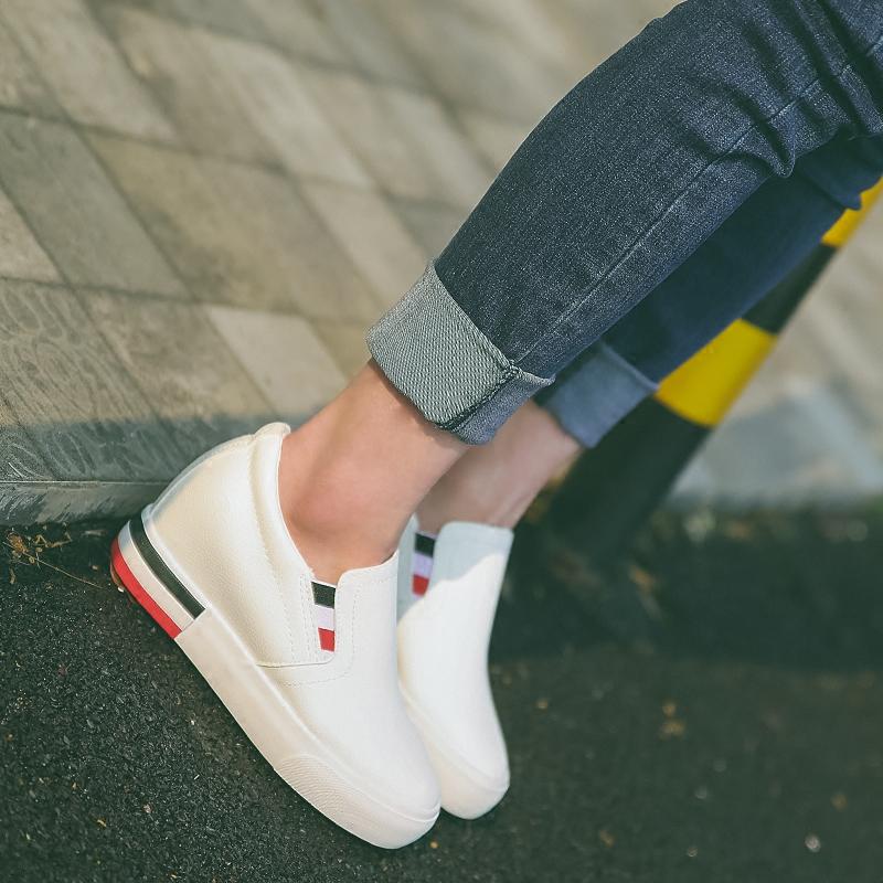 韩国白布鞋