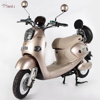小龟王电动车加长男女款72v踏板车小型电瓶车自行车60v代步摩托车