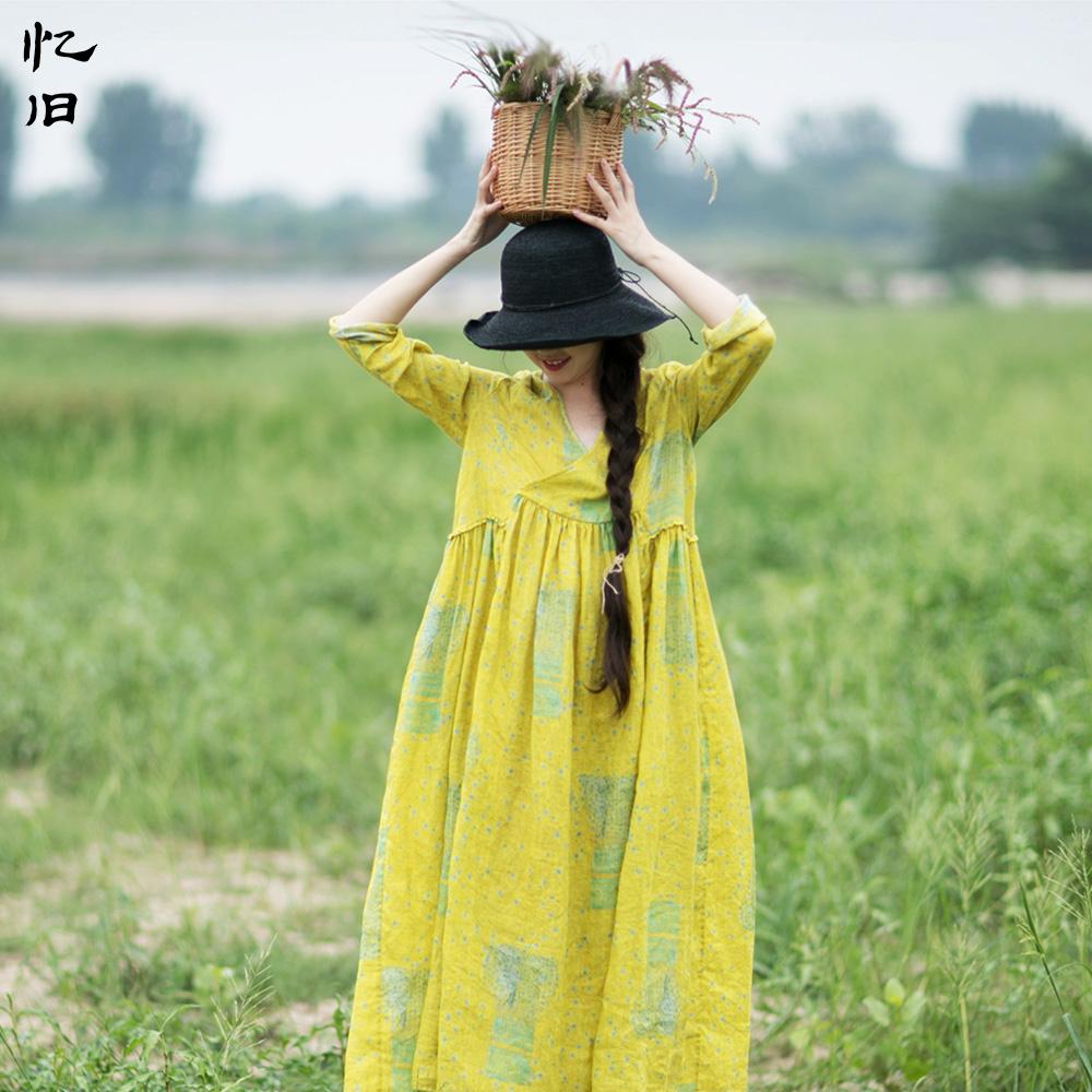 田园淑女风连衣裙