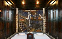 纯白色砖块墙纸3d立体餐厅发廊理发服装店美发店灰砖头背景墙壁纸
