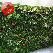 绢花仿真植物墙背景墙绿植墙墙上草坪假草坪 装饰 绿植 室内 田园
