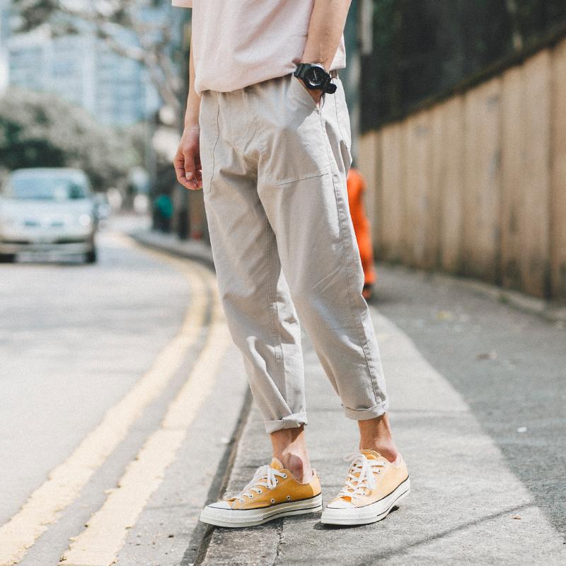宽松舒适潮裤
