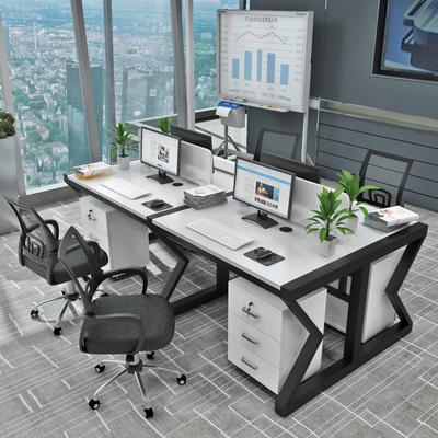 职员办公桌4人位桌椅组合办公家具简约现代2/4/6人工作位屏风卡座年货节折扣