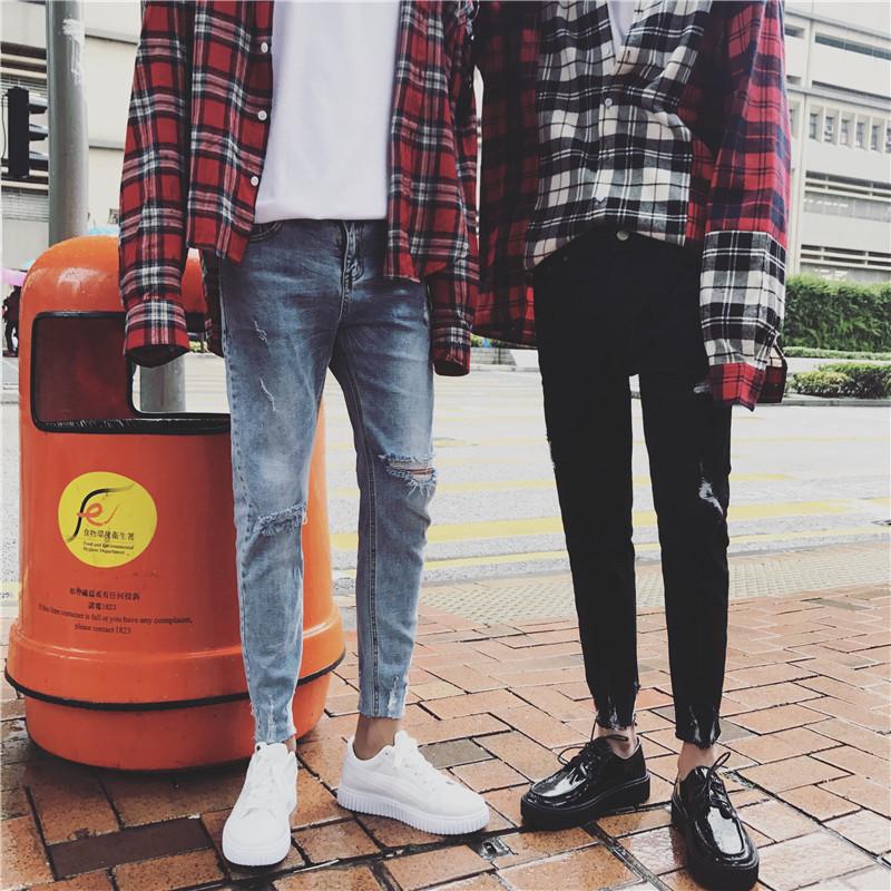 时尚春装牛仔裤