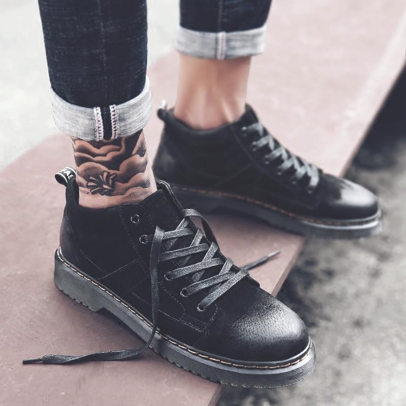 冬季男鞋青年