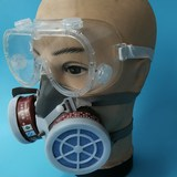 Strong breathable anti-odor gas mask spray paint anti-dust formaldehyde anti-virus mask protective mask hit pesticides
