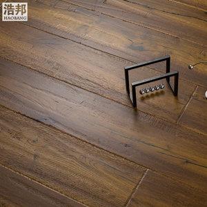 浩邦多层实木复合地板 橡木美式1米86大板 自然油实木多层复合地