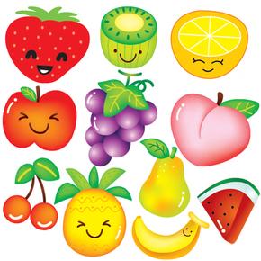 水果蔬菜贴纸冰箱食物卡通墙贴儿童房间卧室婴儿房幼儿园教室贴画