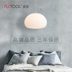 卧室灯北欧现代简约创意个性玻璃吊灯房间书房客厅餐厅衣帽间灯具
