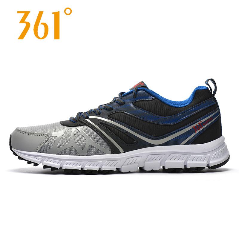 361度男鞋春季运动鞋品牌跑鞋361夏季网面减震透气跑步鞋男【Q】