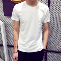 纯白色打底衫男短袖