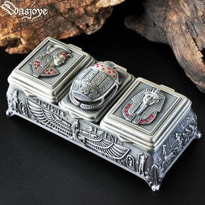 Wasjoye众神非实木质手饰品收纳盒珠宝戒指盒复古欧式公主首饰盒