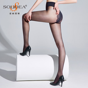 0e4a31c747f European imports Spain Platino stockings cleancut15D oil bright no ...