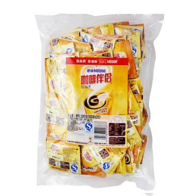 包邮 雀巢咖啡伴侣3gX100小包独立装 咖啡植脂末奶精300g袋装