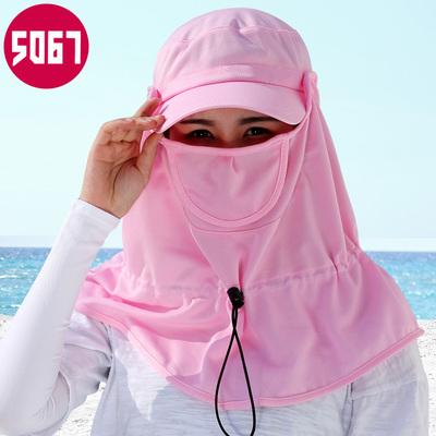 帽子女夏天骑车遮阳夏电动车防晒防紫外线遮脸夏季户外百搭太阳帽