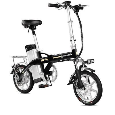 14寸电动车自行车48V助力代驾成人可折叠锂电池单车150公里男女