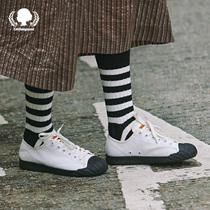 冬季加绒单鞋韩版百搭平底板鞋女学生休闲鞋潮2018真皮毛毛鞋女