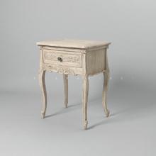 象形design欧式复古做旧家具法式进口家具纯手工木质床头柜边几